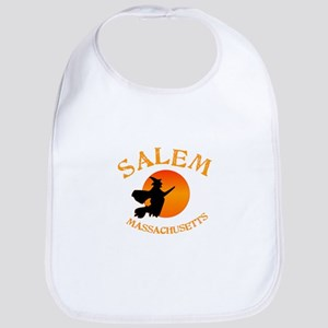 Salem Massachusetts Witch Baby Bib